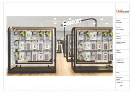 Design, manufacture and installation of stores: We Gadget Shop, Central West Nonthaburi