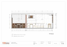ออกแบบ ผลิต และติดตั้งร้าน : ร้าน Nuar Delivery จ.ชัยนาท