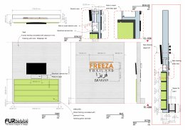 Design, manufacture and installation of the shop: Freeza Thailand Shop, Bahrain