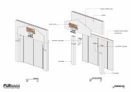Design, manufacture and installation of the shop: Freeza Thailand Shop, Bahrain