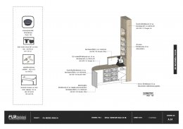 ออกแบบ ผลิต และติดตั้งร้าน : ร้าน MeeDee ม.แม่ฟ้าหลวง จ.เชียงราย