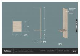 ออกแบบ ผลิต และติดตั้งร้าน : ร้าน hachi hachi บางแสน ชลบุรี