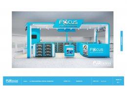 Design, manufacture and installation of stores: Focus Shop, The Mall Bangkapi, Bangkok.