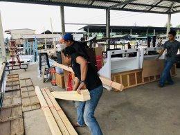 Design, manufacture and installation of shops: True Dtac Shop, Koh Lipe, Satun province.