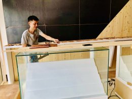 ออกแบบ ผลิต และติดตั้งร้าน : ร้าน  True Dtac Shop เกาะหลีเป๊ะ จ.สตูล