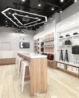 ออกแบบ ผลิต และติดตั้งร้าน : ร้าน Gadget Play ห้างฯ Fortune กรุงเทพฯ