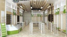 ออกแบบ 3D ร้าน K Accessories @ Mega Bangna