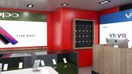 ออกแบบ 3D ร้าน True Shop  สถานที่  Tesco Lotus Maekree Pattalung