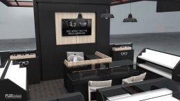 ออกแบบร้าน Glasses Holic : ร้านจำหน่ายแว่นตา @ Tops Plaza Phayao