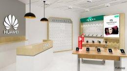 ออกแบบร้านมือถือ ร้าน nexus mobile huawei  @บิ๊กซีบางพลี  จ.สมุทรปราการ