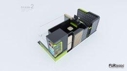 ออกแบบร้านจำหน่ายมือถือ ร้าน Mobile 2