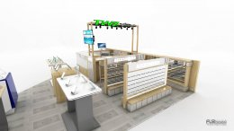 ออกแบบร้านจำหน่ายมือถือ ร้าน TWZ by โคราชนวกิจ