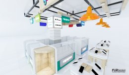ออกแบบร้านจำหน่ายมือถือ ร้าน Yanyont Phone  โลตัสเอ็กเพรส อ.เมือง จ.ชัยภูมิ