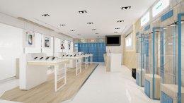 ออกแบบร้านจำหน่ายมือถือ ร้านโฟนโฟน เทสโก้โลตัส อ.เสนา จ.พระนครศรีอยุธยา