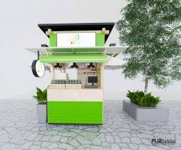 ออกแบบร้าน น้ำมะนาวโซดา  ร้าน สวนมา @ เอเชียทีค เดอะ ริเวอร์ฟร้อนท์