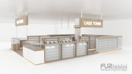 Design, manufacture and installation of stores: Case Town Shop