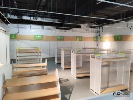 Design a mobile shop, Lemon Telecom Shop, Chatuchak Park Station