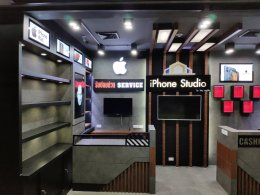 Shop design, install iPhone store, Shop Landmark Building, Udon Thani