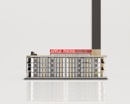 Design, manufacture and installation of stores: Apple Phone store BIG C Pathumthani