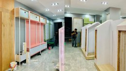 Design, manufacture and installation of the shop: Ban Namdek Shop, Dok Kham Tai District, Phayao Province