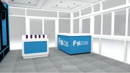 Design, manufacture and installation of stores: Focus shop, Phitsanulok province.