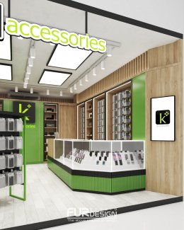 Design, manufacture and installation of stores: True by Max Service Shop(copy)(copy)