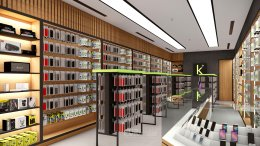 Design, manufacture and installation of the shop: K Accessories shop