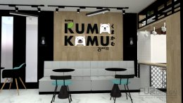 Design, manufacture and installation of stores: Kuma Kamu, Tea Shop, Italian Soda Drink, Bang Yai, Nonthaburi