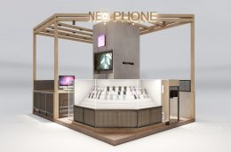 Design, manufacture and installation of stores: Neo Phone Shop, The Mall Bang Khae