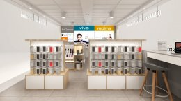 Design, manufacture and installation of stores: P.A Telecom Shop, Lotus Salaya