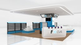 Design, manufacture and installation of the shop: Focus Shop, Nakhon Sawan Province