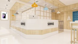 Friend telecom shop design