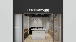 Design, manufacture and installation of stores: iFixit Service by AOJAI, Central Airport, Chiang Mai