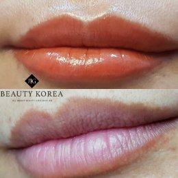 6. สักปาก Aquarelle Lips