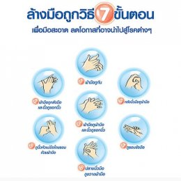 Wash your hands to prevent disease