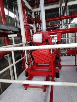 งานติดตั้งเครื่องสูบน้ำดับเพลิง บริษัท โซนี่ ดีไวซ์ เทคโนโลยี (ประเทศไทย) จำกัด