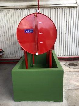 งานติดตั้งเครื่องสูบน้ำดับเพลิง บริษัท ทีไอ ออโทโมทีฟ (ไทยแลนด์) จำกัด