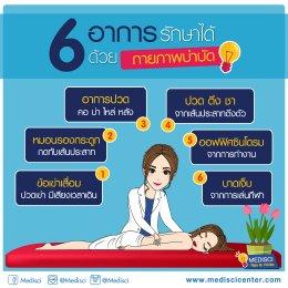 6 อาการรักษาได้ด้วยกายภาพบำบัด