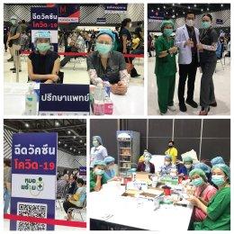 โครงการ หัวใจไทย ไทยช่วยไทย ไทยสู้สู้ ให้ความรู้กับกลุ่มเสี่ยงโรคโควิด 19 ณ MCC Hall เดอะมอลล์งามวงศ์วาน
