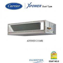 แอร์แคเรียร์ เครื่องปรับอากาศซ่อนในฝ้าแบบต่อท่อลม อินเวอร์เตอร์ Carrier Inverter