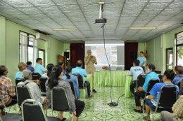 คบ.สุโขทัย จัดประชุมการเสนอโครงการเพื่อขอรับการสนับสนุนงบประมาณ