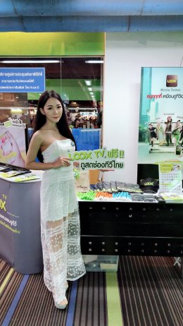 LOOX TV at Thailand Mobile Expo 2018