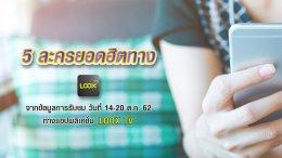 LOOX TV เรตติ้ง 14-20 ต.ค. 62