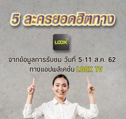 LOOX TV เรตติ้ง 5-11 ส.ค. 62