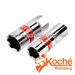 KCH046_A ลูกบล็อกหัวเทียนรุ่นแม่เหล็กดูด SQ-DR.1/2 นิ้ว