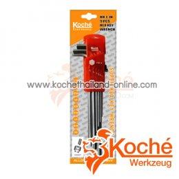 KCHW01SL ชุดประแจหกเหลี่ยม 2 ข้าง