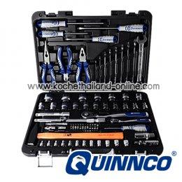 """QEC01003 บล็อกชุดพร้อมเครื่องมือช่าง 82 ตัว/ชุด SQ.DR. 1/4"""" และ 1/2"""""""