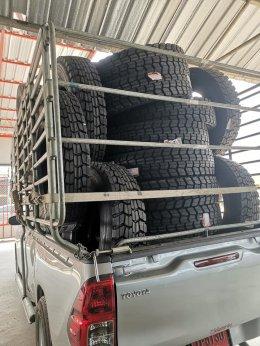 รีวิวจากลูกค้า...ใช้ยางรถบรรทุก 11R22.5 GT 200 ลายล้อหลัง ดอกลึก 18 มม .