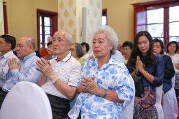 พิธีบำเพ็ญกุศลวันคล้ายวันเจริญอายุวัฒนมงคล ปีที่ ๙๑ อุทิศถวายเจ้าประคุณสมเด็จ ฯ