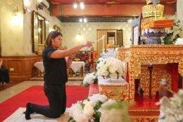 คณะหลานพระธรรมกิตติโสภณ เป็นเจ้าภาพพิธีบำเพ็ญกุศล สวดพระอภิธรรม อุทิศพระธรรมกิตติโสภณ